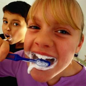 Fluorid in Zahnpasta