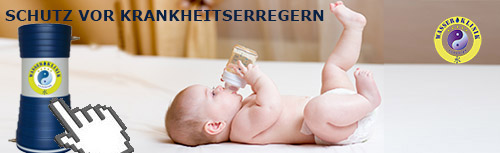 Schutz vor Krankheitserregern im Trinkwasser