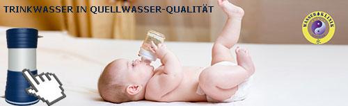 Trinkwasser in Quellwasser Qualität